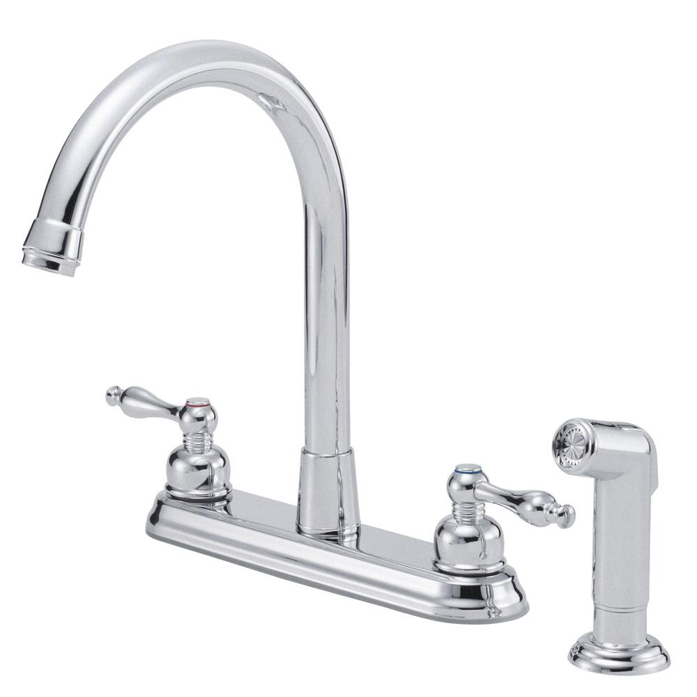 faucets kitchen faucets deck mount algor plumbing and heating 225 00
