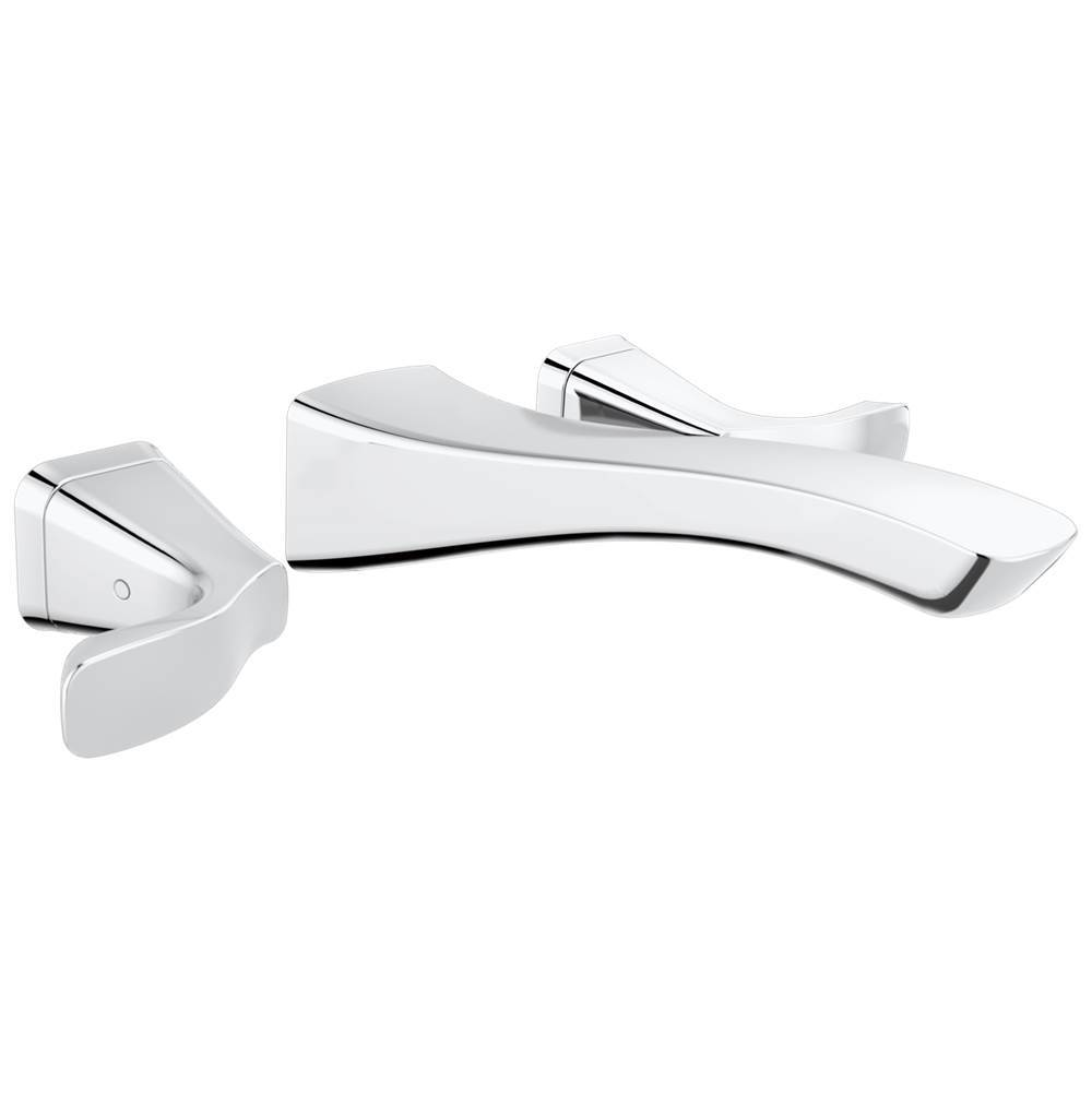 $424.20. T3552LF WL · Delta Faucet; Delta Tesla: Two Handle Wall Mount  Bathroom ...