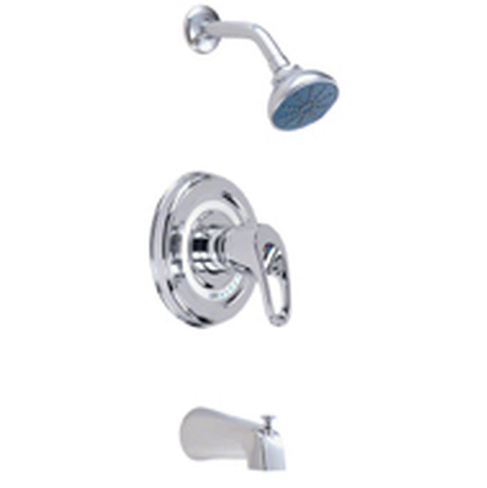Gerber Plumbing Bathroom Showers Tub And Shower Faucets Gerber ...