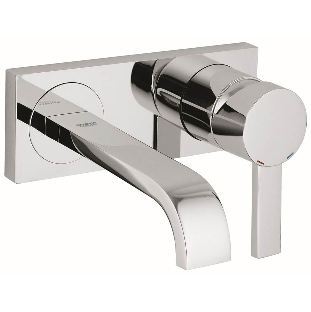 Grohe Faucets Bathroom Sink Faucets Wall Mounted | Algor Plumbing ...
