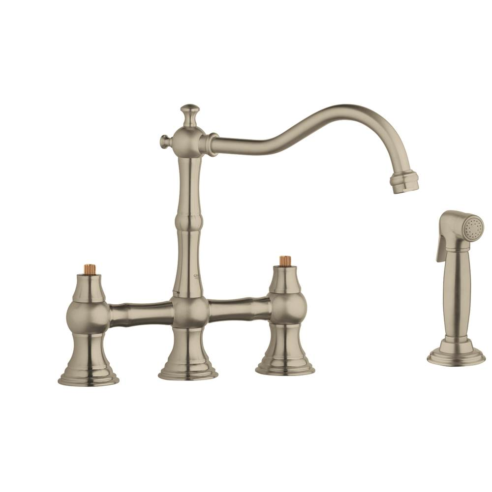 Grohe Faucets Kitchen Faucets Bridge   Algor Plumbing and Heating ...