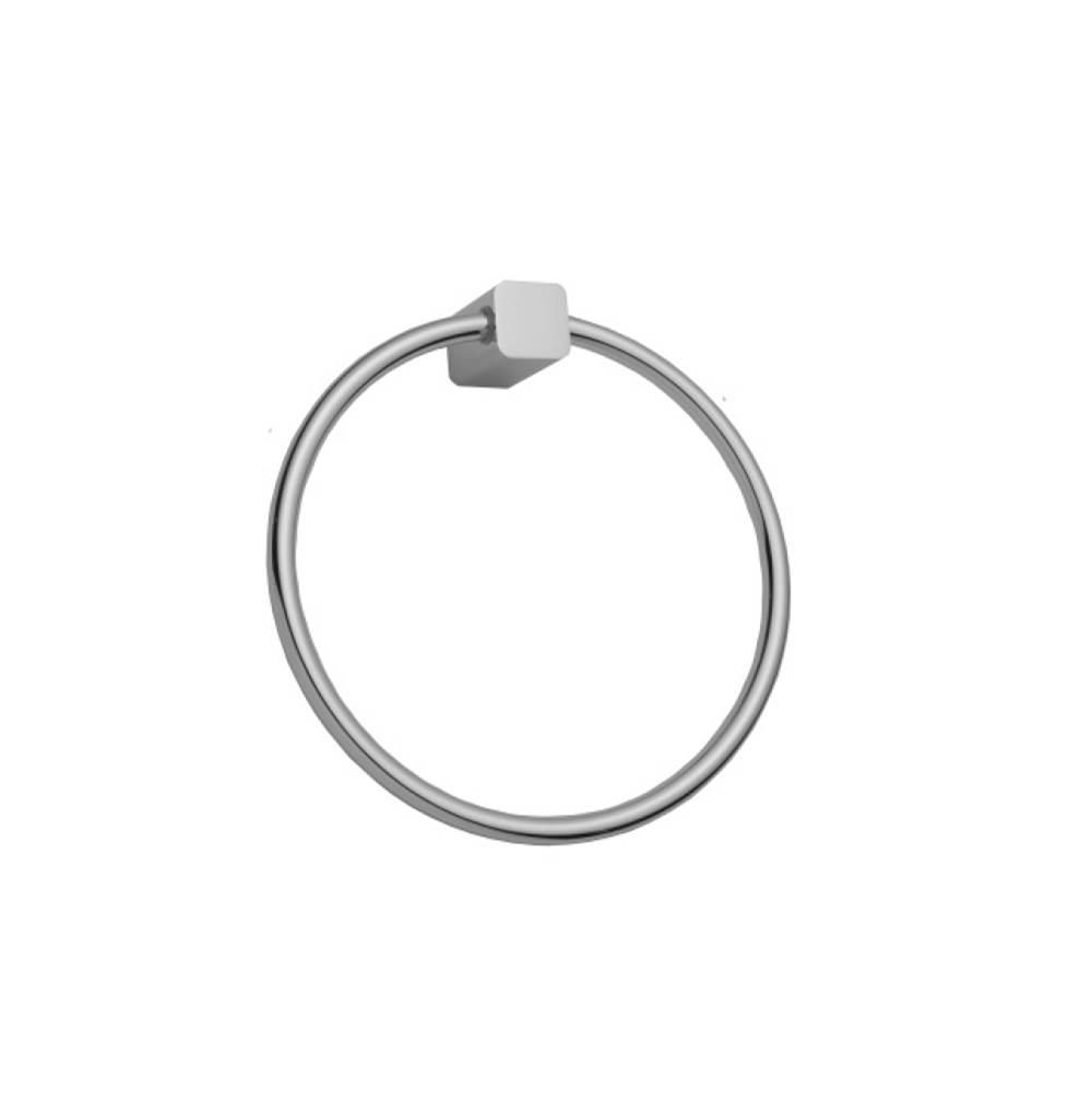 Polished Nickel Standard Plumbing Supply Jaclo 4830-TR-PN Roaring 20S Towel Ring