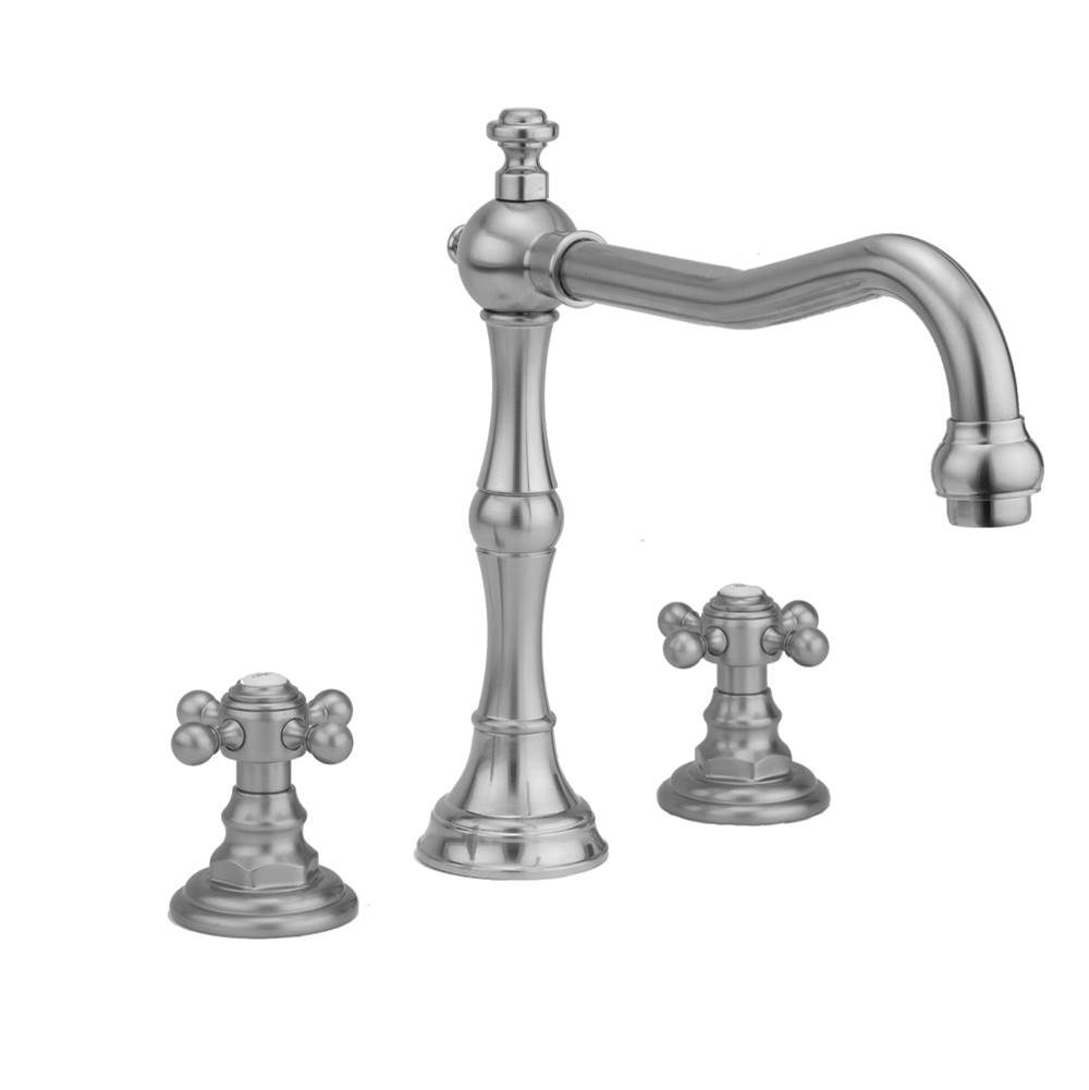 Jaclo 6970-T674-S-488-TRIM-PEW Astor Roman Bathtub Filler with Handshower and Lever Handles Pewter