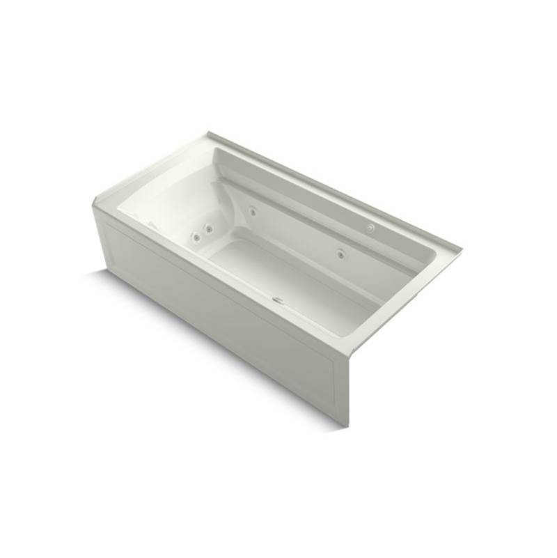 Kohler Three Wall Alcove Whirlpool Bathtubs item 1124-XHGRA-NY