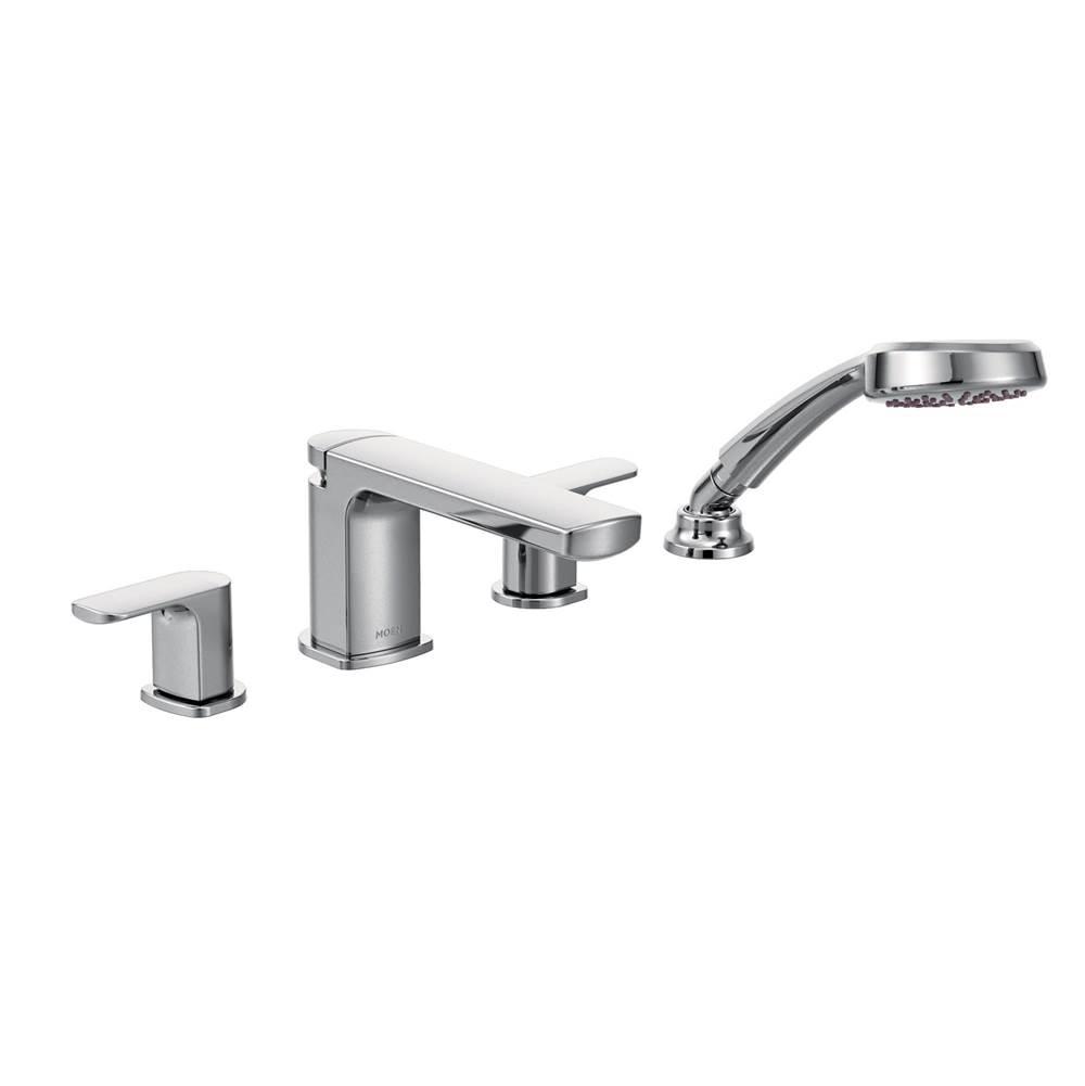 Moen Faucets Tub Fillers Deck Mount Algor Plumbing And Heating