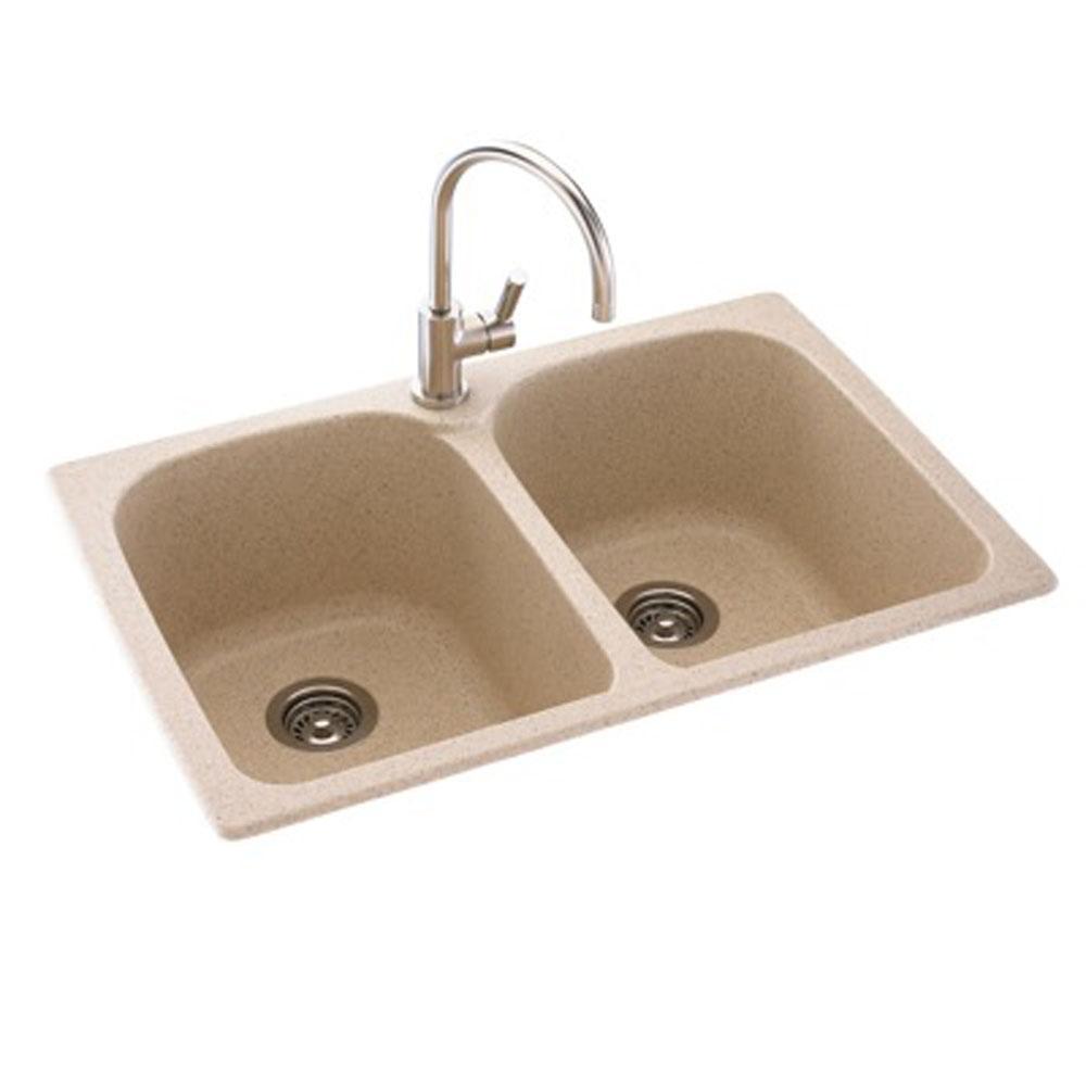 Sinks Kitchen Sinks Drop In Brown | Algor Plumbing and Heating ...