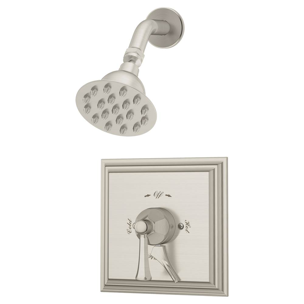 Symmons  Shower Only Faucets With Head item S-4501-STN-TRM
