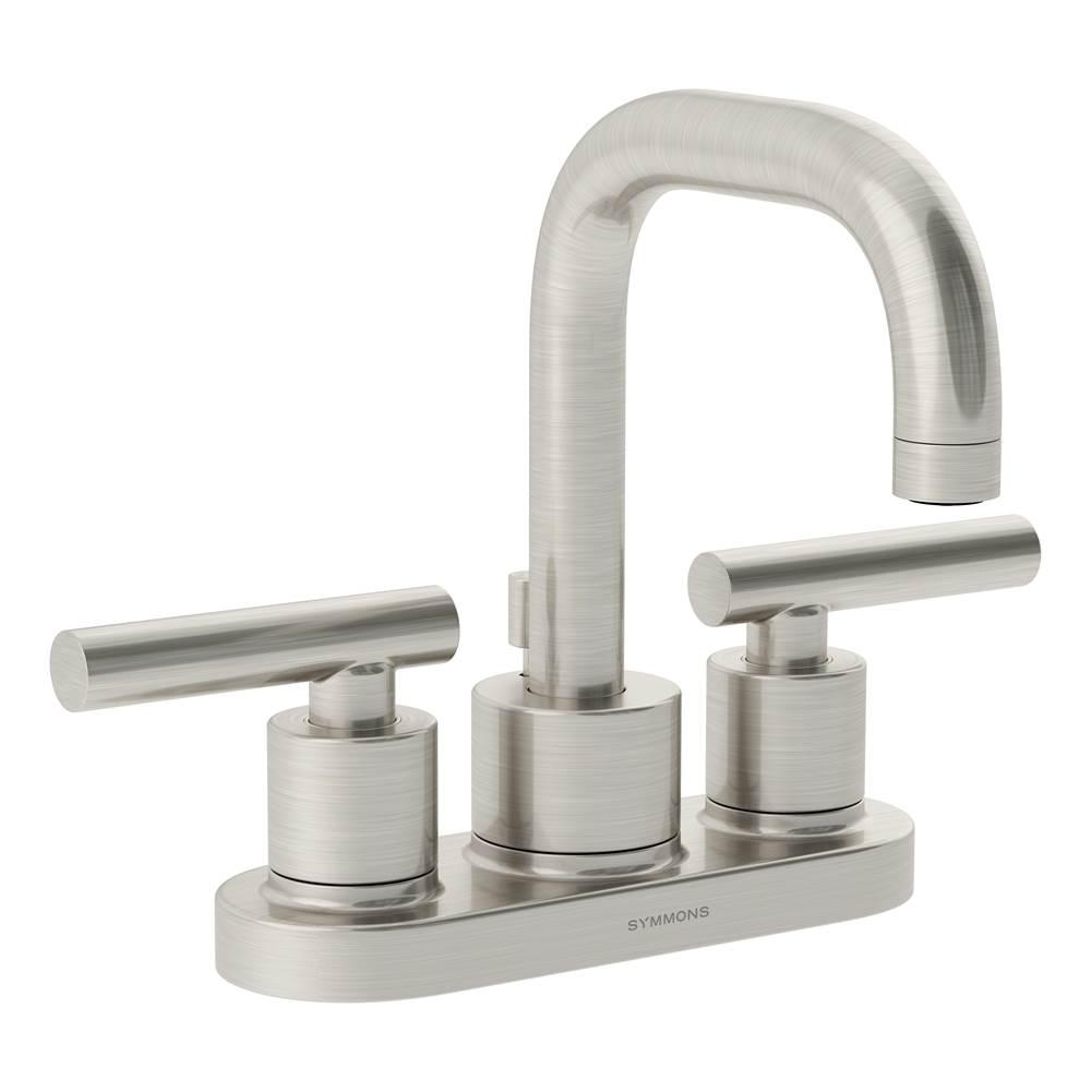 Symmons SLS-4312-STN-1.0 Sereno Single handle bathroom faucet 1.0 GPM Satin Nickel